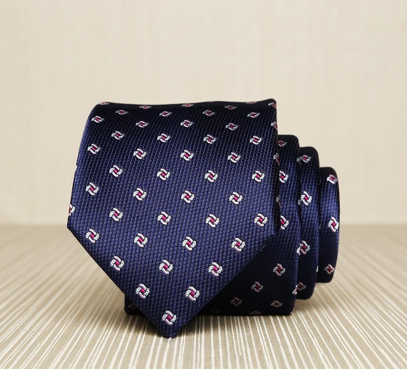 Cà vạt xanh đen 164 - 1