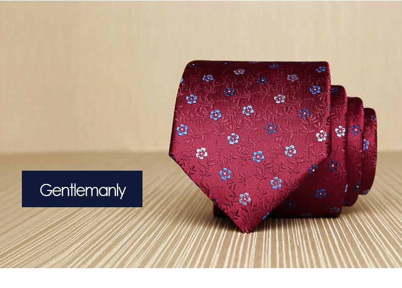 Cà vạt đỏ đô 160 - 1