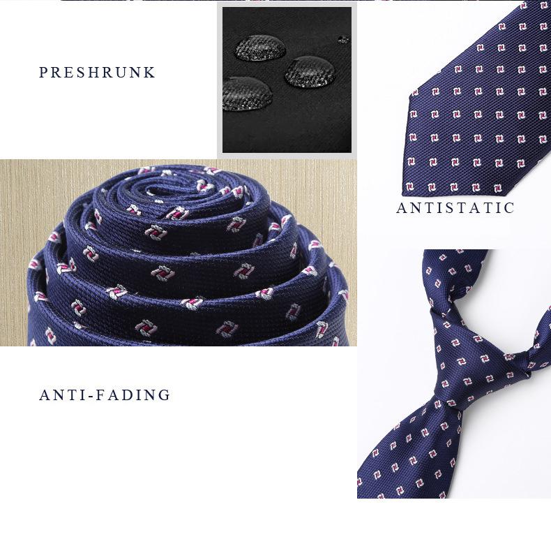 Cà vạt xanh đen 164 - 3
