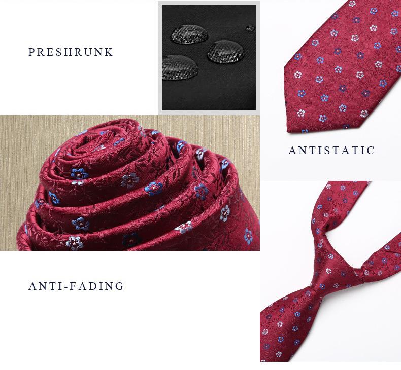Cà vạt đỏ đô 160 - 2