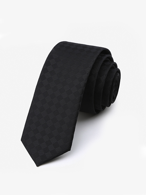 Cà vạt đen 47 - 1