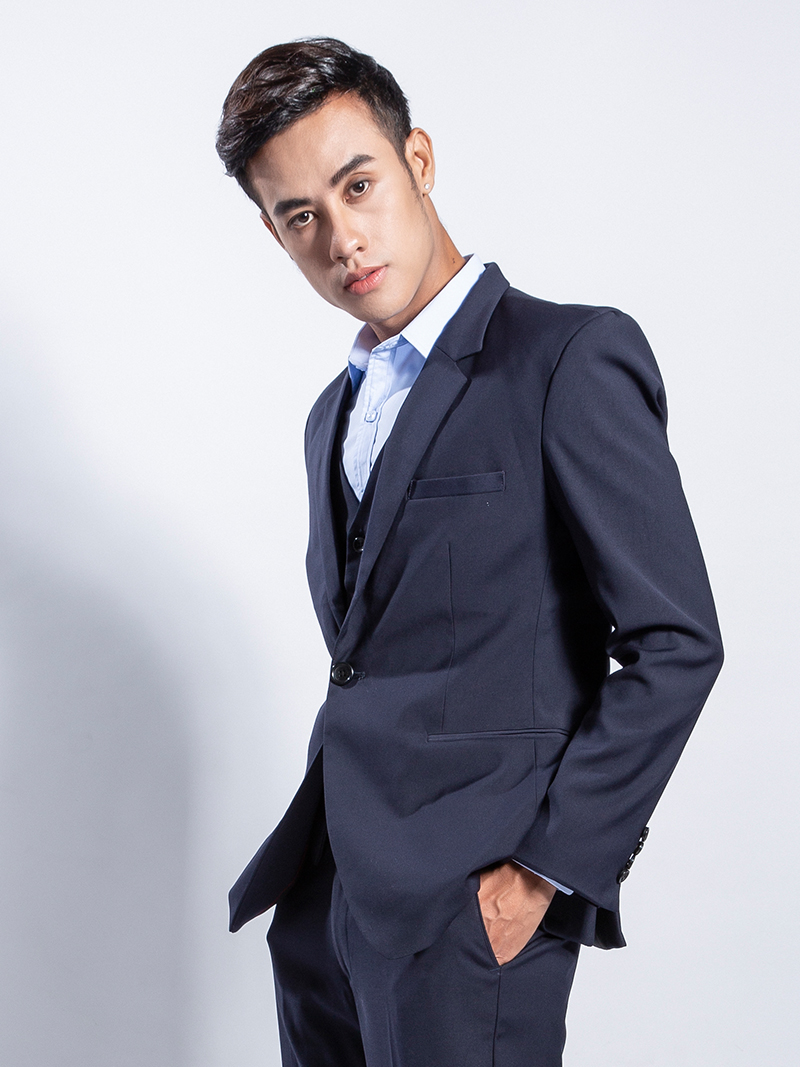 Áo vest xanh đen 1103 - 2