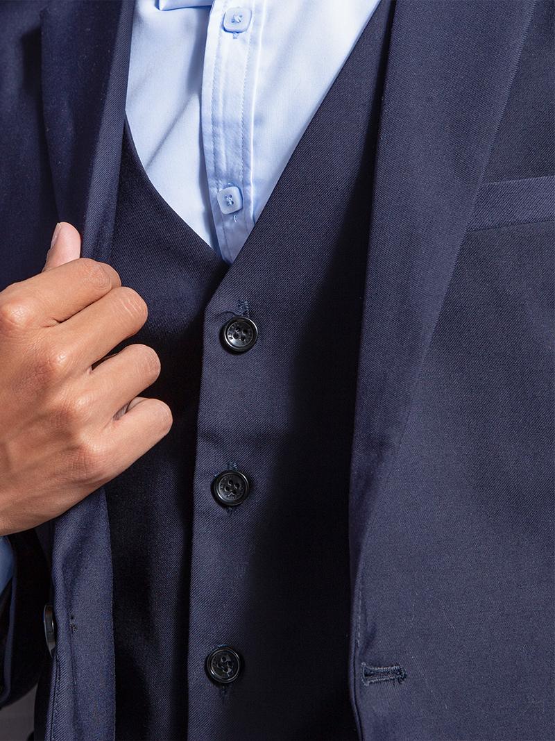 Áo gile xanh đen 1103 - 3