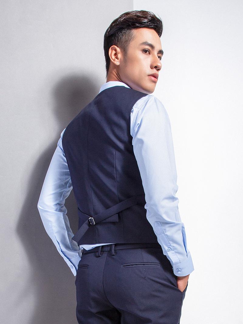 Áo gile xanh đen 1103 - 2