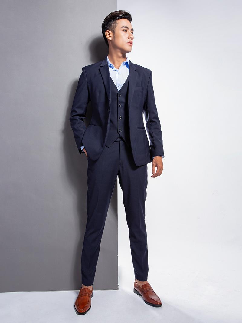 Áo vest xanh đen 1103 - 5