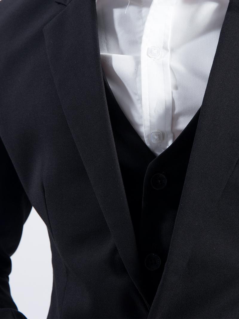 Áo gile đen 1103 - 2