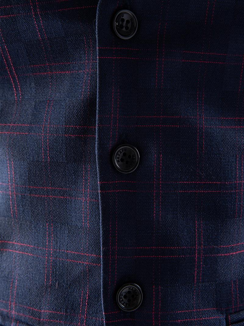 Áo gile xanh đen 1115 - 4