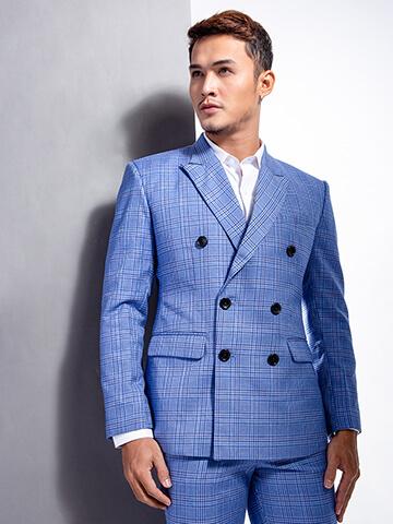 ao vest caro xanh 1105
