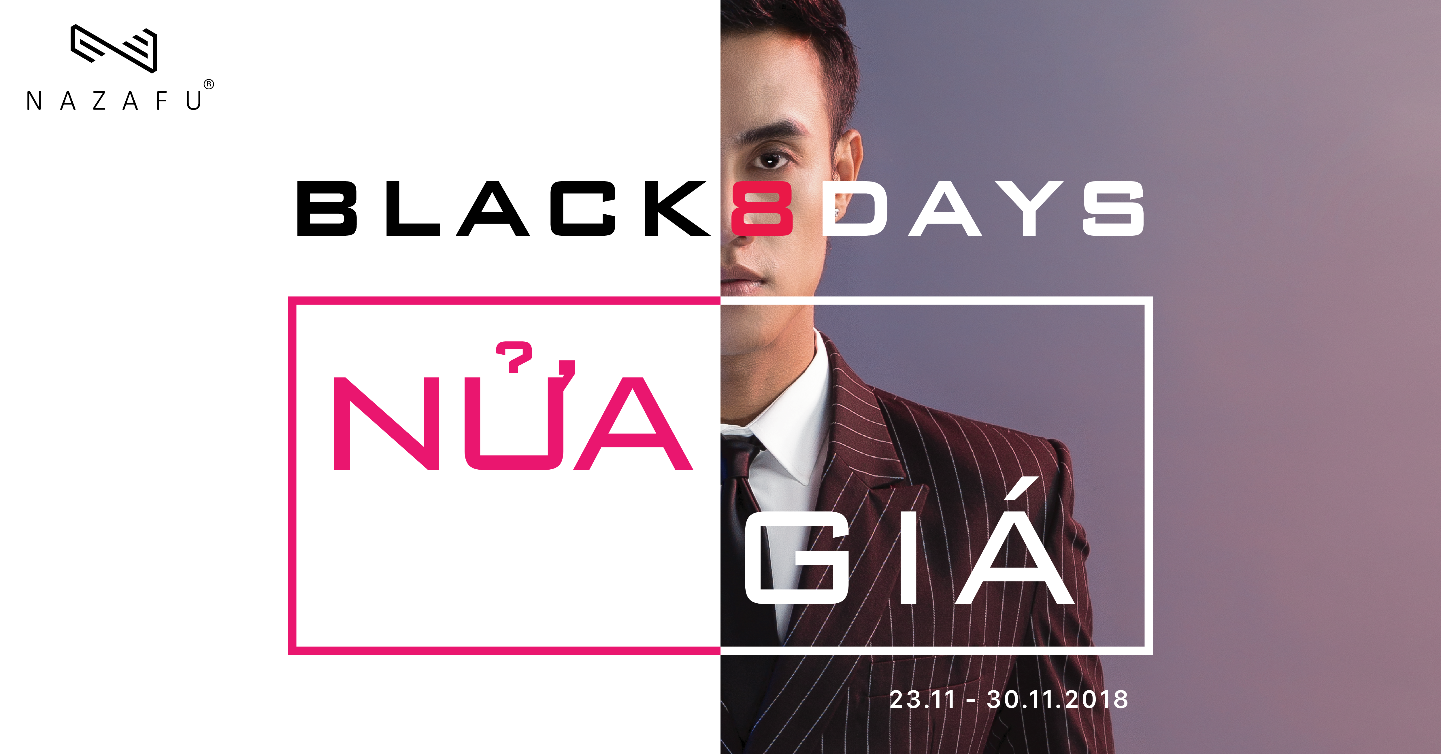 BLACK 8 DAYS – NAZAFU GIẢM LÊN ĐẾN 50%